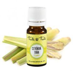 Ťuli a Ťuli Citronová tráva přírodní esenciální olej