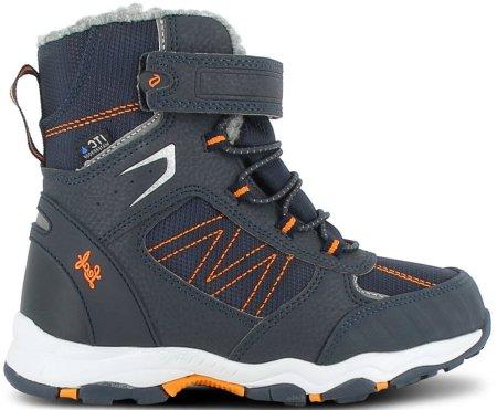 Leaf buty zimowe chłopięce LFV22003 33 ciemnoniebieski