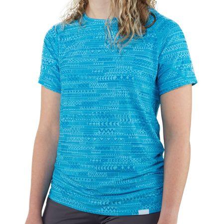 NRS H2Core Silkweight ženska majica, cijan, XS