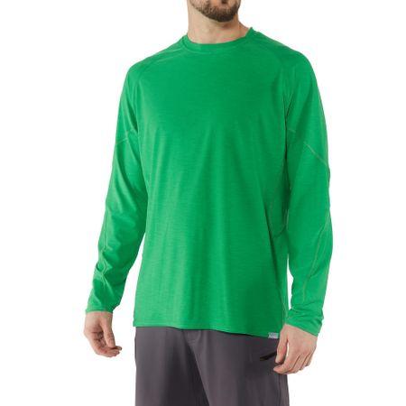 NRS H2Core Silkweight moška majica, zelena, L