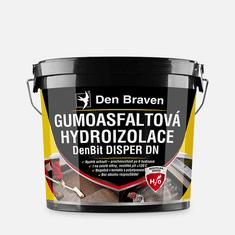 Den Braven Gumoasfaltová hydroizolace DenBit DISPER DN, kbelík 5 kg, černá (11008BI)
