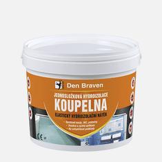 Den Braven Jednosložková hydroizolace KOUPELNA, kbelík 2,5 kg, medově hnědá (CH0289)