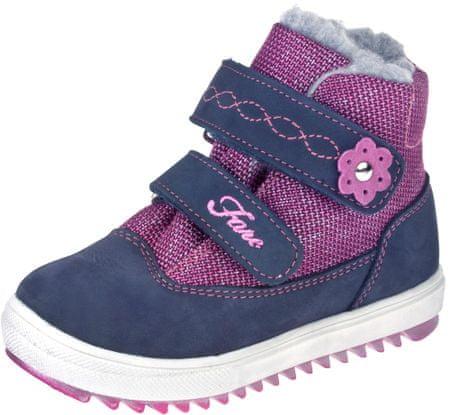 Fare 845251 dekliški zimski čevlji, roza-modri, 23