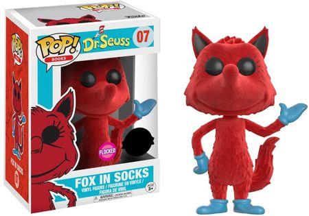 Funko POP! Dr. Seuss figurica, Fox in Socks (Flocked) #07