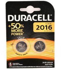 Duracell DL/CR 2016 3V/B baterija, litij
