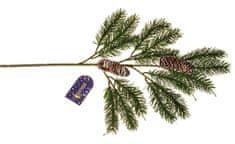 EverGreen Fenyőág tobozokkal, hossz 52 cm