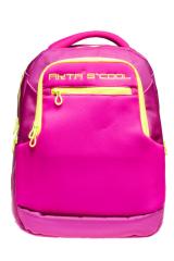 Akta S Cool ruksak, 30 x 39 x 21 cm, školski, Fluo ružičasta