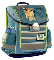 Animal Planet ruksak, 42 x 34 x 20 cm, školski, ergonomski, tvrdi, Lav