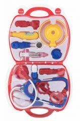Teddies Sada doktor/lékař v plastovém kufříku