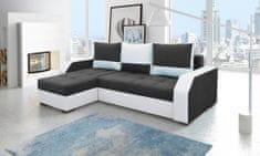 Importworld Rohová sedací souprava Nestor - Lana 100 / Soft 017 bílá (barva potahu) - roh univerzální
