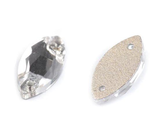 Kraftika 72ks crystal broušené kamínky naveta našívací, šatony