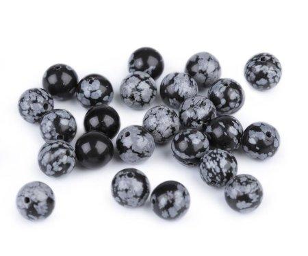 Kraftika 44pc bsidian pehely természetes ásványi / drágakő gyöngyök