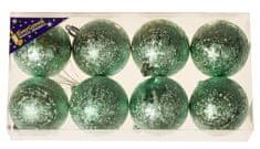 EverGreen Božićne kuglice, 8x, 6 cm3