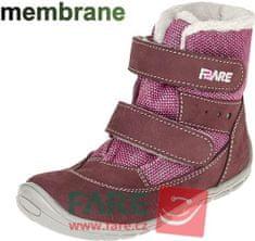 Fare bare dívčí zimní obuv 5441291
