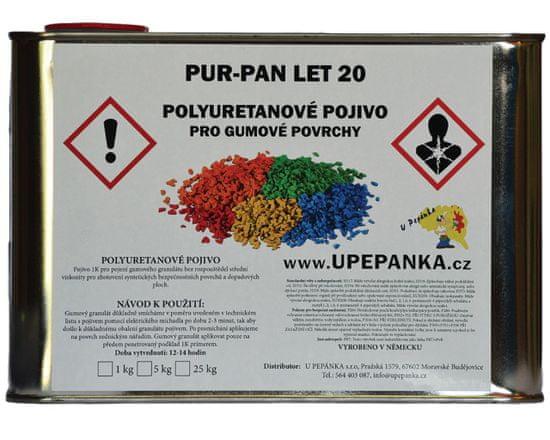 Gumový chodník Pojivo letní ke gumovému granulátu PUR-PAN LET 20, 1kg