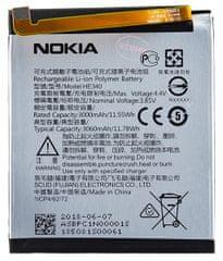 Nokia HE322/HE340 Batéria 3000mAh Li-Pol (Bulk) 2439370