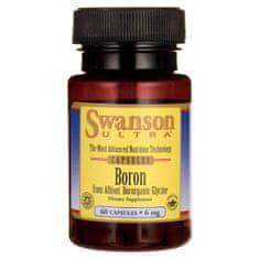 Swanson Vitamins Bor-chelát 60 kapslí 6mg