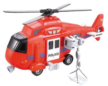 Lamps gasilski helikopter na baterije