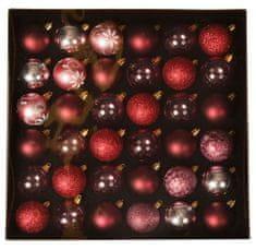 EverGreen Karácsonyfa gömbök x36 LUX, különbözőek, átmérő 5cm1