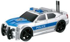 Lamps Auto polícia na batérie
