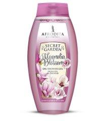 Kozmetika Afrodita gel za tuširanje, Magnolia Blossom, masna, 250 ml
