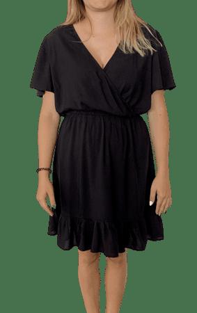b.young ženska obleka Ilia 20808281, 34, črna