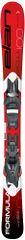 Elan Juniorské zjazdové lyže Formula Red QS EL 7.5 19 130
