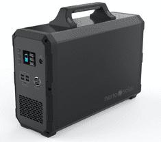 nano solar Nabíjecí stanice 2.4kWh/1W, NS Compactor 2400 - solární bateriový generátor