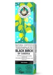 Natura Siberica RBA Prírodná certifikovaná zubná pasta - Čierna sibírska breza -Bieliaca