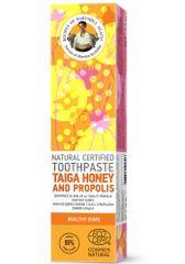 Natura Siberica RBA Prírodná certifikovaná zubná pasta - Med z Tajgy a Propolis - Zdravé ďasná