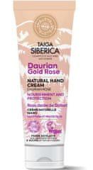 Natura Siberica Taiga Siberica -prírodný krém na ruky - Daurianská zlatá ruža - výživa a ochrana
