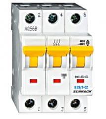 Schrack Jistič 25A třífázový elektrický před elektroměr pro ČEZ B 10kA BM018325CZ Schrack