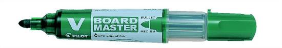 """Pilot Popisovač na bílou tabuli """"V-Board Master"""", zelená, kuželový hrot, 2,3mm"""