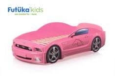 Futuka Kids Postel auto Light Plus (LED světla)