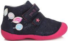 D-D-step 015-566 cjelogodišnje cipele za djevojčice