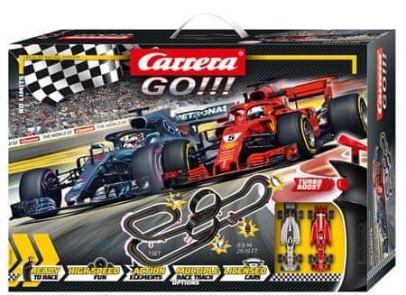 CARRERA Tor wyścigowy GO 62485 No Limits