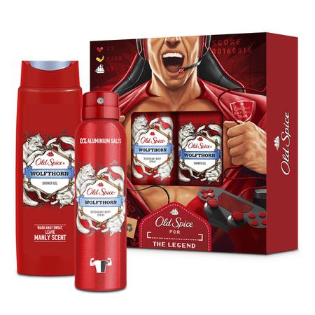 Old Spice Świąteczny zestaw prezentowy dla mężczyzn Wolfthorn Gamer