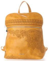 Desigual dámský žlutý batoh Back Martini Nanaimo 20WAKP37