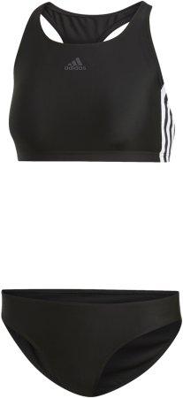 Adidas FIT 2PC 3S női fürdőruha, 34, fekete
