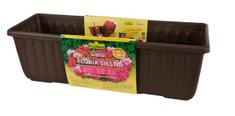 Plastia Samozavlažovacie truhlík 80 cm - Čokoláda