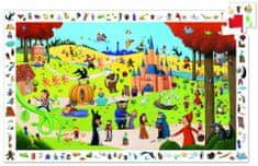 Djeco Vyhledávací puzzle Pohádky