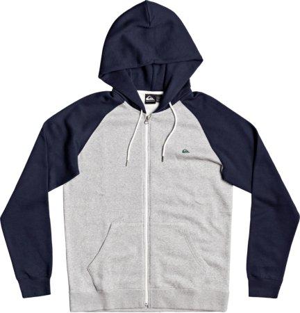 Quiksilver Everyday Zip EQYFT04138 férfi pulóver, szürke, XL