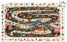Djeco Vyhledávací puzzle Rallye