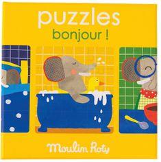 Moulin Roty Puzzle Den slůněte