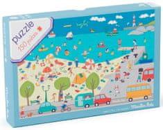 Moulin Roty Puzzle Život na pláži 150 dílků