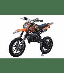 Sunway Motocykl MINICROSS 49cc 2t Xmotos XB81 Modrá