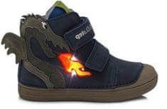 D-D-step chlapčenská celoročná členková obuv 049-234