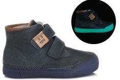 D-D-step chlapecká fluorescenční kotníková obuv 068-380A