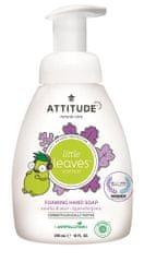 Interkontakt Dětské pěnivé mýdlo na ruce ATTITUDE Little leaves s vůní vanilky a hrušky 295 ml