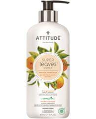 Interkontakt Přírodní mýdlo na ruce ATTITUDE Super leaves s detoxikačním účinkem - pomerančové listy 473 ml